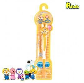 Pororo Tooth Brush For Children Kids (3 Year Over) Cartoon Character Eddy
