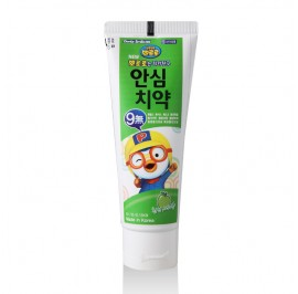 Pororo Ansim Children Toothpaste 80g For Kids (3 Year Over) Apple Flavor